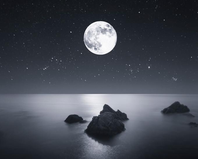 صورة اجمل صور للقمر , جمال القمر