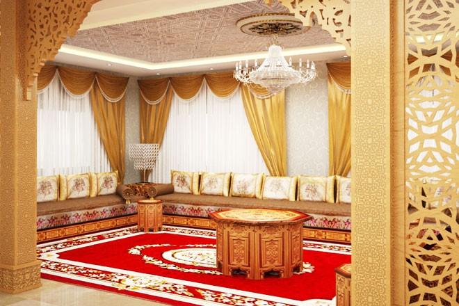 صورة ديكور مغربي , احدث الديكورات المغربيه