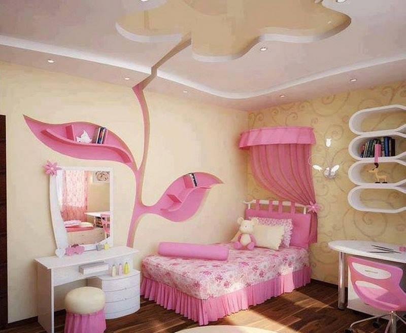 صورة ديكورات غرف نوم بنات , اجمل الغرف للبنات