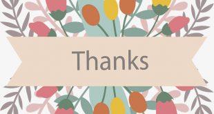 صورة بطاقة شكر , باقة من بطاقات الشكر والتقدير