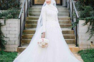 صور فساتين زفاف للمحجبات , اجمل موديلات فساتين الزفاف