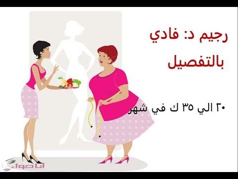 صورة رجيم الدكتور فادي , رجيم فادى لانقاص الوزن السريع