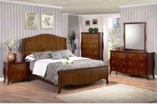 صورة غرف نوم خشب , موديلات غرف نوم خشب حديثه