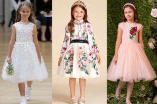 صور فساتين اطفال بنات , رقة تصميمات فساتين الاطفال