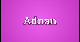 معنى اسم عدنان , صله الاسم بالعرب قديما
