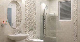 صورة بلاط حمامات , اشكال رائعه من ديكورات الحمامات