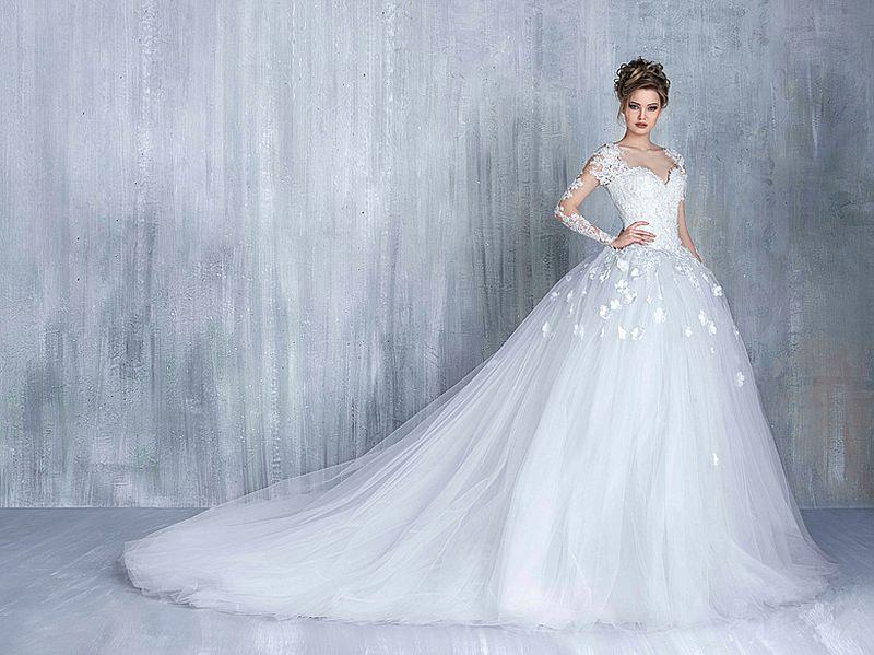 صورة صور فساتين اعراس , احدث موديلات فساتين اعراس لاجل تالقك 2747 3