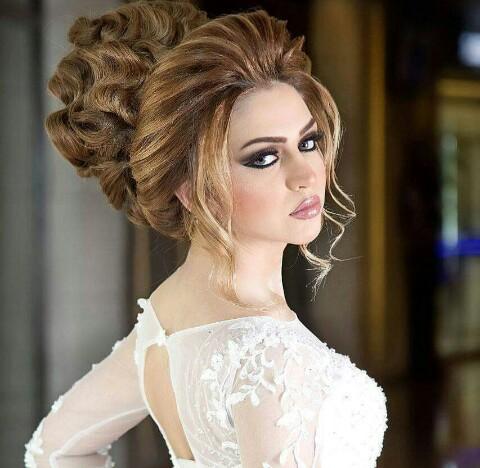 صورة اجمل تسريحة شعر في العالم , صور لاجمل تسريحة علي الاطلاق