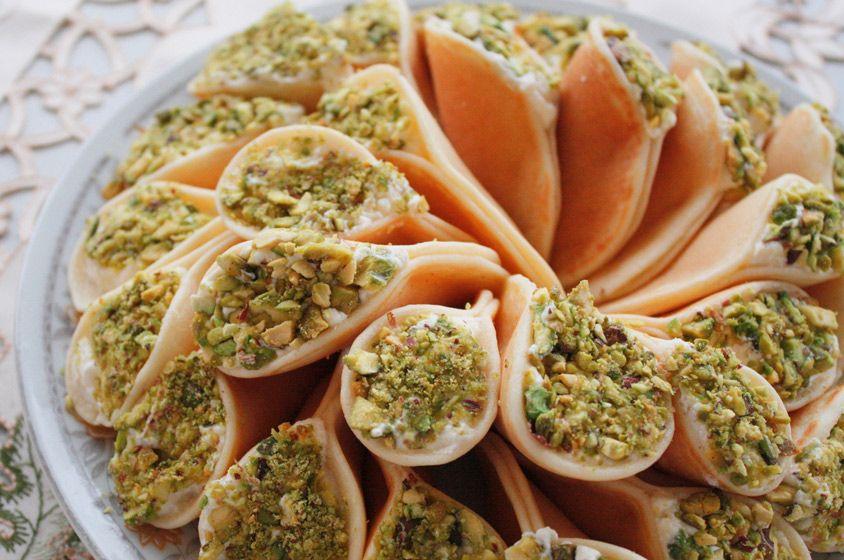 صورة حلويات شامية , اصناف حلويات شاميه كتيره