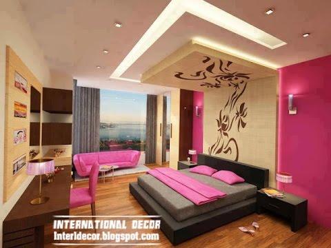 صور ديكورات جبس غرف نوم , احدث الديكورات والتصميمات الخاصه بغرفه النوم
