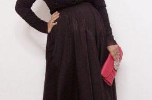 صورة ملابس للحوامل المحجبات , احدث تصميمات للبس الحامل المحجبه روعه