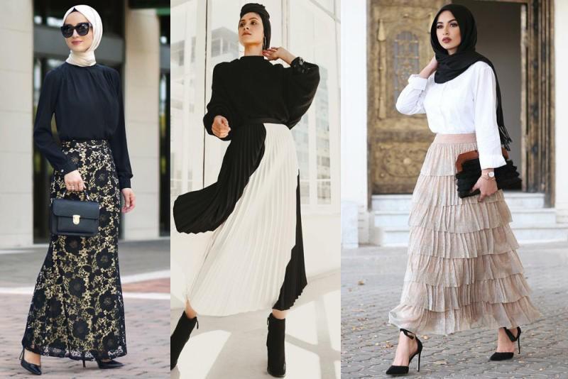 صور تنسيقات بلايز وتنانير , احدث صيحات الموضة في عالم ازياء السيدات