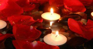 بالصور صور ورد وشموع , عشاق الرومانسية اليكم هذه الصور الجميلة المليئة بالشموع و الورود 10649 10 310x165