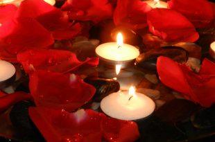 بالصور صور ورد وشموع , عشاق الرومانسية اليكم هذه الصور الجميلة المليئة بالشموع و الورود 10649 10 310x205