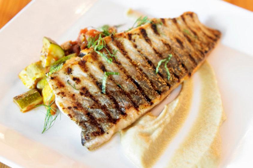صور السعرات الحرارية في السمك المشوي , فوائد السمك المشوي لجسم الانسان
