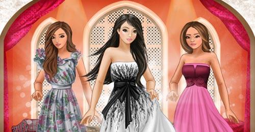 صورة بنات وبس ساحة الموضة , لعبة الكترونية جديدة للبنات