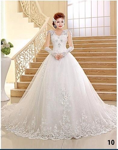 صورة فساتين بدلات اعراس , اجمل فساتين الزفاف في البلاد العربية والعالمية 10801 3