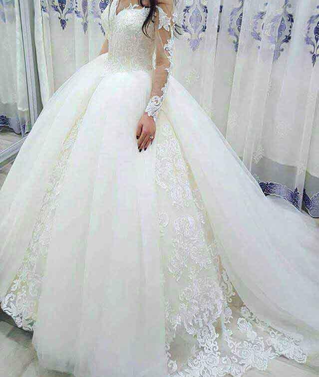 صورة فساتين بدلات اعراس , اجمل فساتين الزفاف في البلاد العربية والعالمية 10801 6