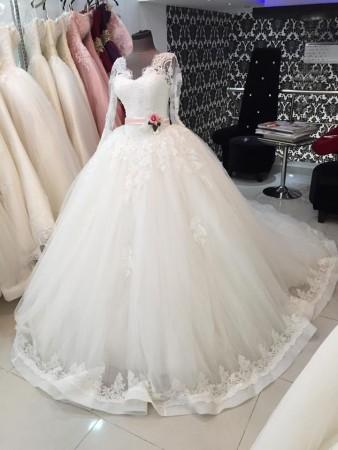 صورة فساتين بدلات اعراس , اجمل فساتين الزفاف في البلاد العربية والعالمية 10801 8
