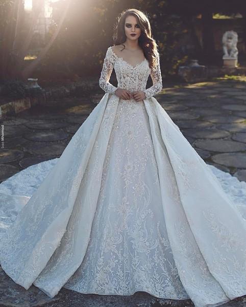 صور فساتين بدلات اعراس , اجمل فساتين الزفاف في البلاد العربية والعالمية