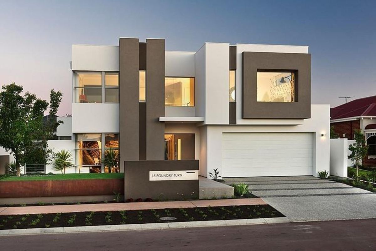 صورة تصميم منازل حديثة , افضل تصميمات عصرية للمنازل الحديثة كبيرة الحجم