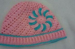 صورة طريقة عمل قبعة بالكروشية خطوة بخطوة , تعلمي كيف تصنعين قبعة مذهلة من خيوط الكروشيه الجميلة