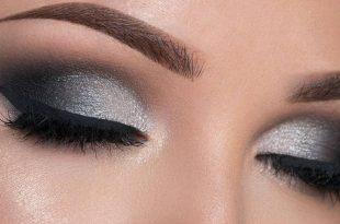 صورة ظل عيون لفستان اسود , احلى مكياج عيون سوداء
