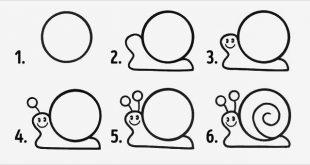صورة رسم حيوانات بالخطوات , علمى طفلك الرسم بمهاره سريعه