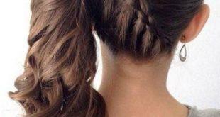 صورة طرق تسريحات شعر بسيطة , فن تسريحات الشعر بالصور