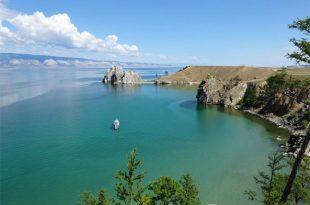صورة اكبر بحيرة في العالم , بحيره بايكال الروسيه