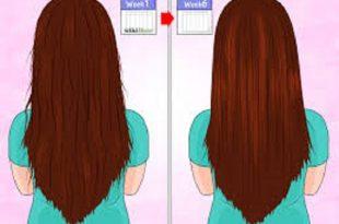 صورة كيفية تطويل الشعر , حلمك شعرك يكون طويل تعالى بسرعه