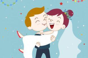 صورة عرسان ف قمه الرومانسيه والحب , اجمل الصور للعروسين