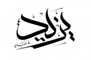 صورة المعنى القوى اللى مستخبى من وار اسمك يايذيد , معنى اسم يزيد