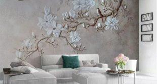 صورة زيني الحوائط , ورق جدران ثلاثي الابعاد