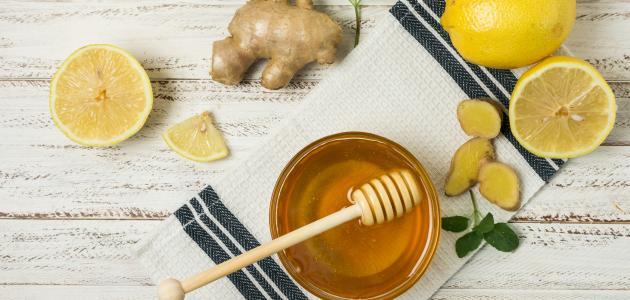 صورة فوائد العسل والليمون للوجه , فوائد الليمون والسكر للبشرة 1459 1