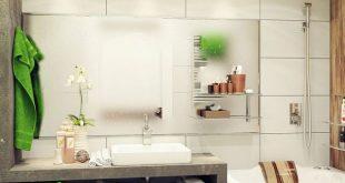 كيف تجعلى حمامك بهذا الشكل , ديكورات حمامات