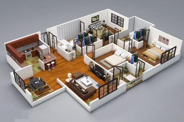 صورة اجمل اشكال المنازل الحديثة , تصاميم منازل 477 3
