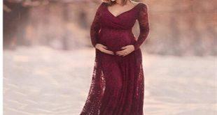 صورة ادلعي بفستان حوامل , فساتين سهرة للحوامل