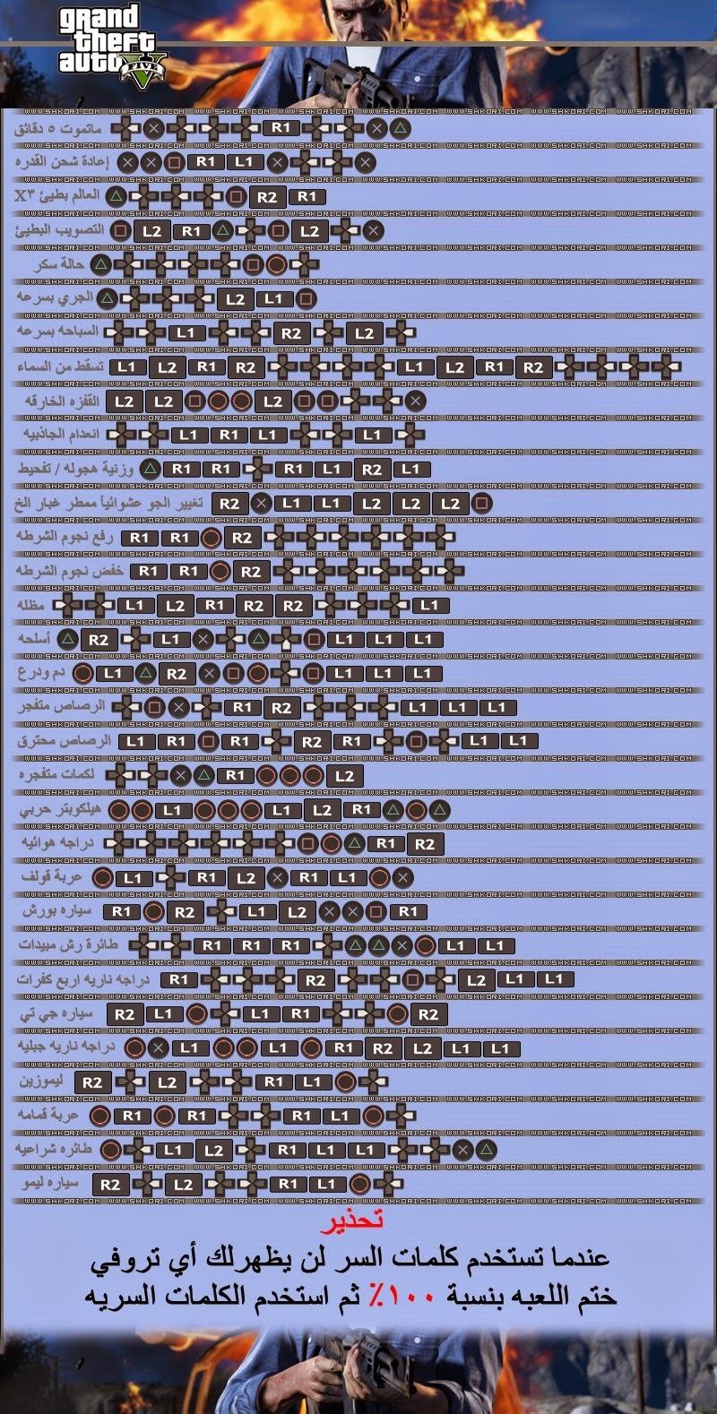 صورة اسرار وشفرات خاصه جداااااا , رموز gta v 5270 2