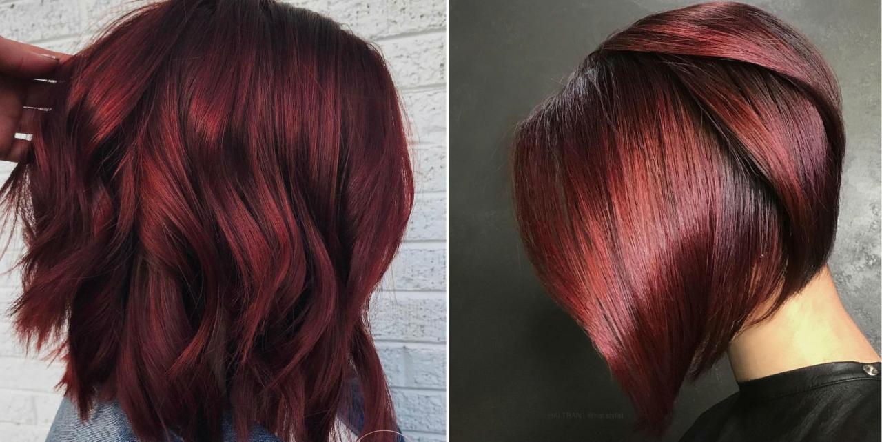 صورة شعر احمر ناري 10958 1