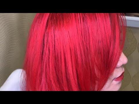 صورة شعر احمر ناري 10958 3