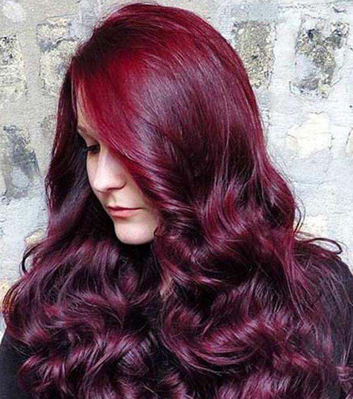 صورة شعر احمر ناري 10958 5
