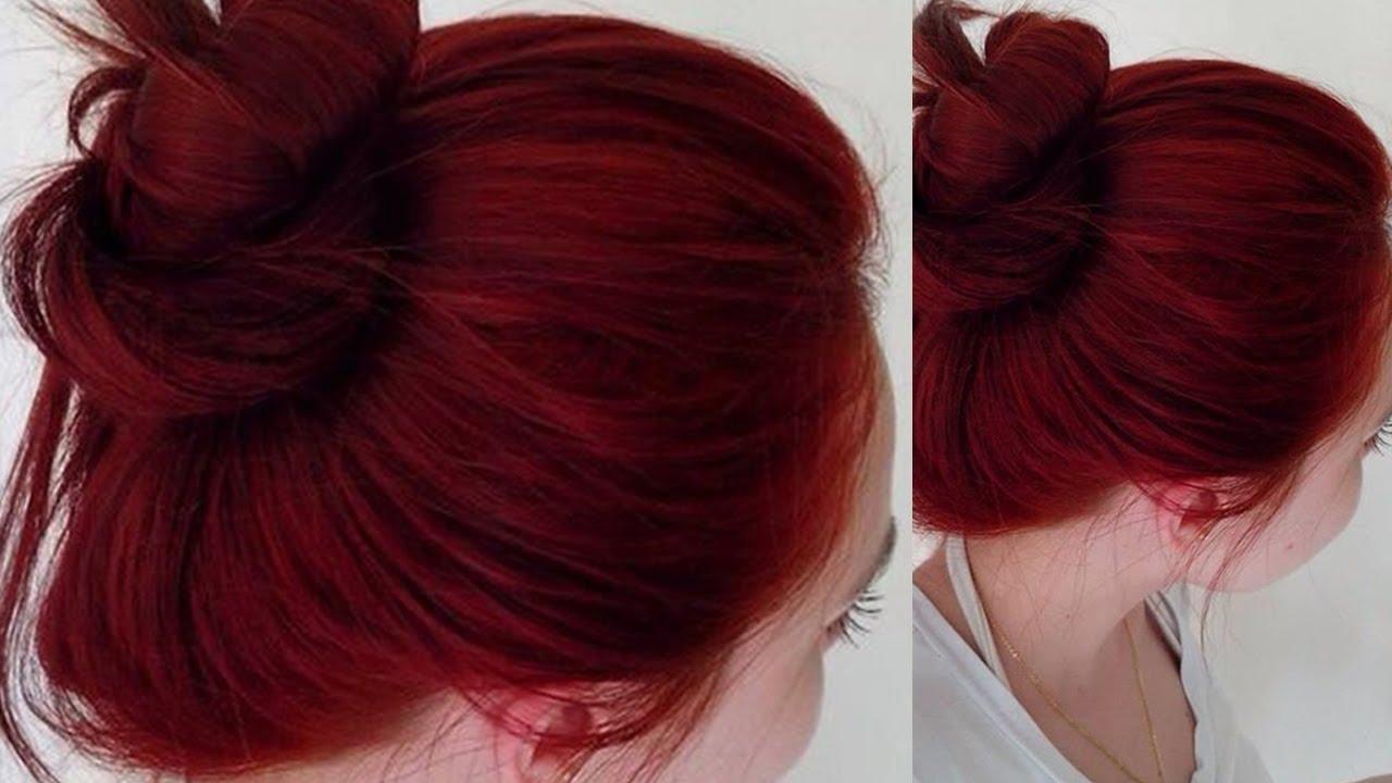 صورة شعر احمر ناري 10958