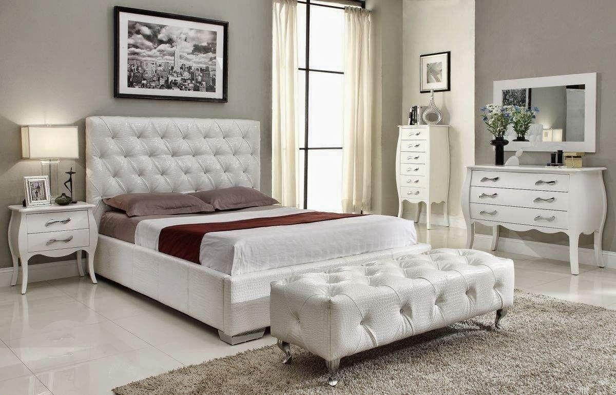 صورة غرف نوم بيضاء , شكل جديد وتصميم رائع ومميز لغرفه النوم 303 1