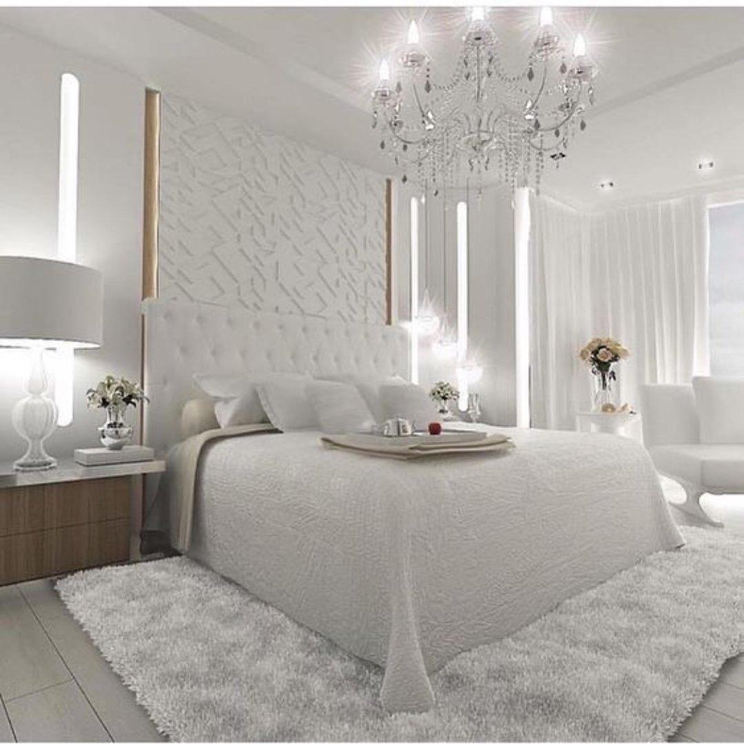 صورة غرف نوم بيضاء , شكل جديد وتصميم رائع ومميز لغرفه النوم 303 2